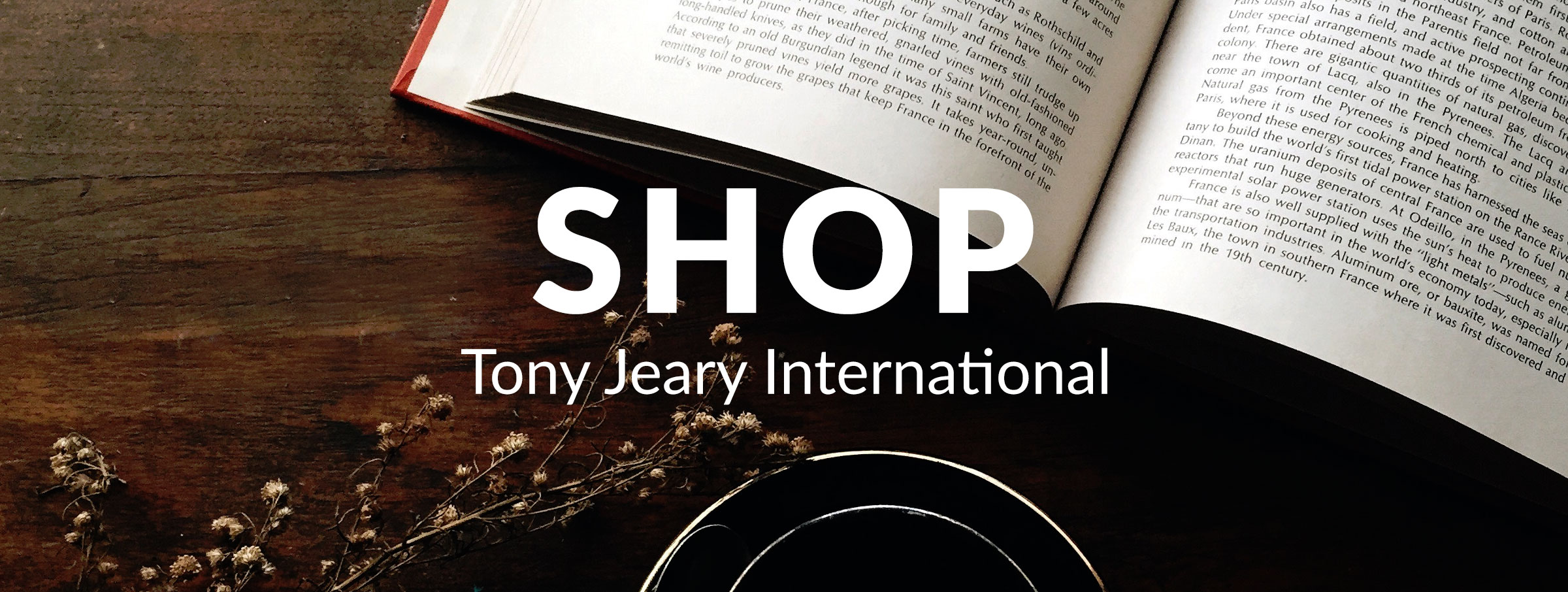 Shop Tony Jeary Interational