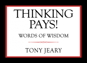 Thinking Pays Cover