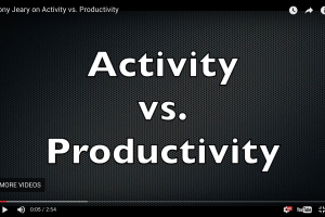 Activity vs. Productivity