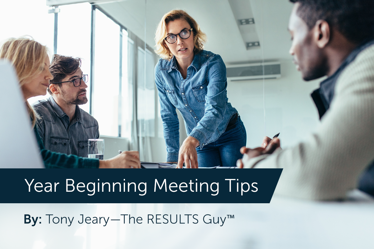 Year Beginning Meeting Tips